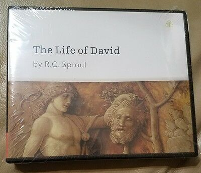 The Life Of David By R. C. Sproul Ligonier Ministries (5-Cd) New