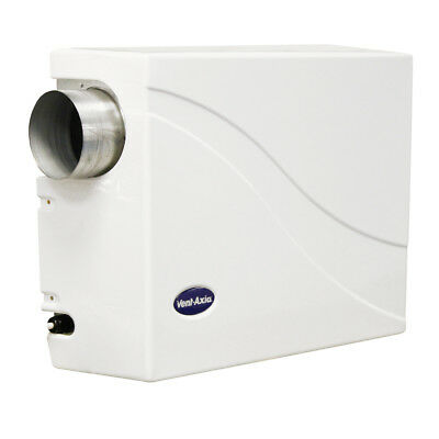 Vent Axia Pozidry Compact with Heater - Wall Mounted Positive Ventilation Unit