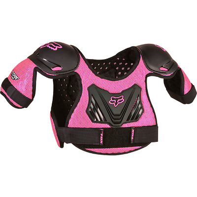 Fox Racing Girls Peewee Pee Wee Roost Chest Deflector Protector Sm/med 4-7 Years