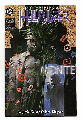 Hellblazer Vol 1 No 2 Feb 1988 (VFN) DC Comics, Modern Age (1980-Now)