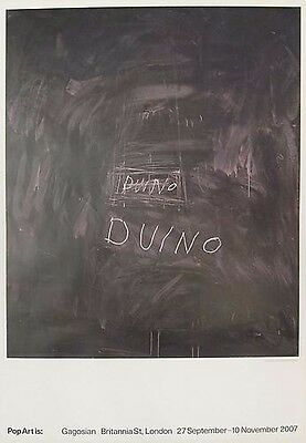Cy Twombly (Offset Lithograph) Untitled