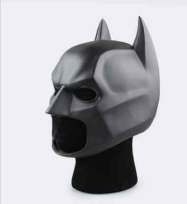 Batman The Dark Knight Mask Cowl Replica Costume Armor Cosplay Rare Prop Movie