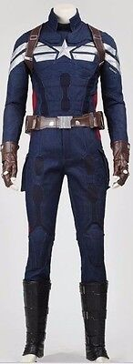 Costume Replica Captain America 2 Cosplay, 2S-3Xl- Winter Soldier,halloween
