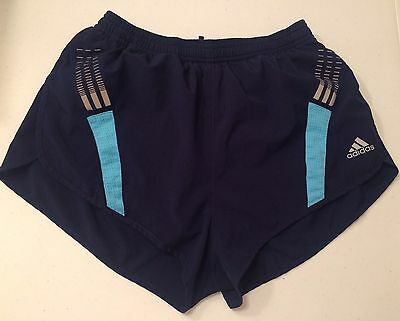 Adidas Women's Size Small Athletic ClimaCool Blue Shorts