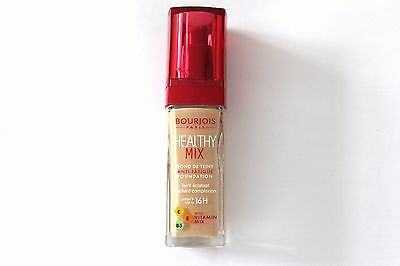 Bourjois Healthy Mix Foundation With Vitamin Mix 30ml - Please Choose Shade: