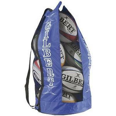 Gilbert Breathable Rugby Ball Bag Rugby Accessories Holdalls Blue