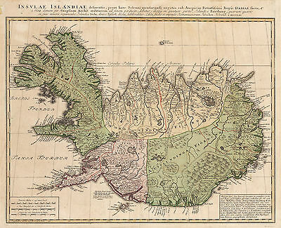 1761 Map of Iceland