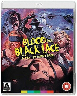 Blood And Black Lace - Cameron Mitchell - New Blu-Ray & DVD
