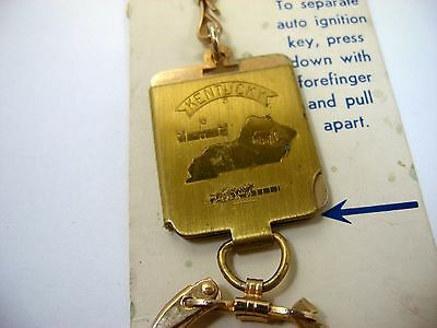 Vintage Keychain KENTUCKY Detachable Design