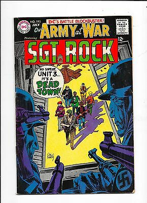 Our Army at War #195 DC Comics (1968)