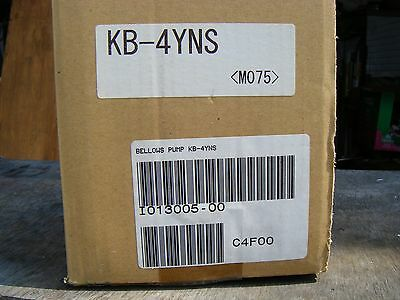 brand-new Iwaki Bellows pump KB-4YNS