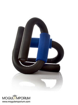 NEW UK Push Up Bars Stand Pull Press Bar Foam Handle Home Exercise Blue Black