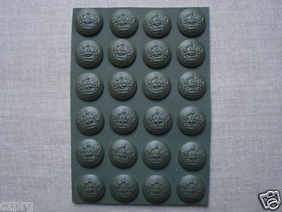 WWI WW1 imperial German buttons set 22,4 mm