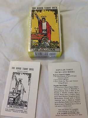The Rider Tarot Deck Conceived By Arthur Waite Complete With Instruction Booklet