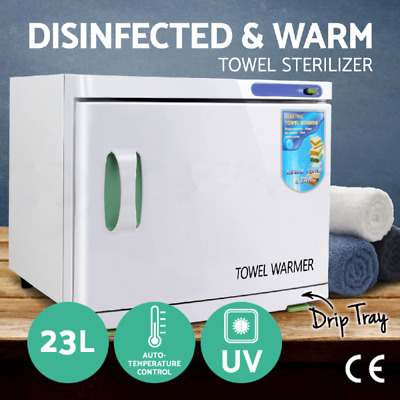 UV Towel Sterilizer Warmer 16L Cabinet Disinfection Heater Hot Hotel Salon Spa
