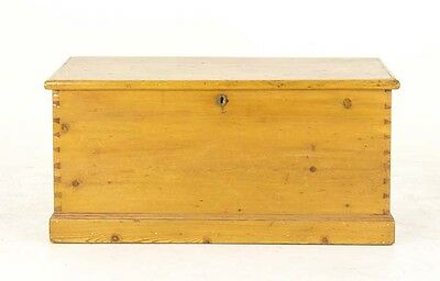 Blanket Box | Pine Chest | Victorian Coffer | B716