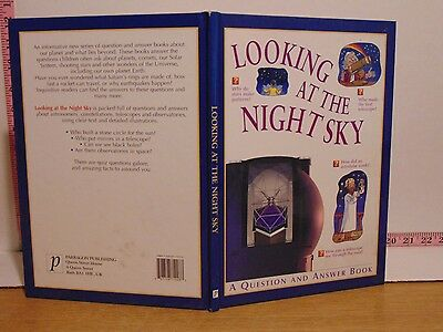 Looking At The Night Sky: A Question And Answer Book (2001, Hardcover)