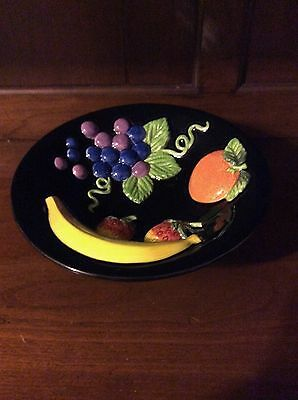 Vintage Fitz and Floyd Footed Fruit Bowl