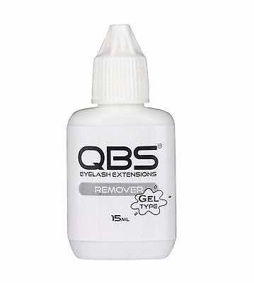 Qbs Gel Type Dissolvant de Colle 15ml - Extensions de Cils