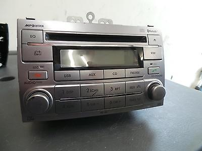 Hyundai I20 Radio/cd/dvd/sat/tv Cd Player, Tb, 07/10- 10 11 12 13 14 15