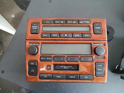 Lexus Gs Radio/cd/dvd/sat/tv 10/97-12/04 97 98 99 00 01 02 03 04