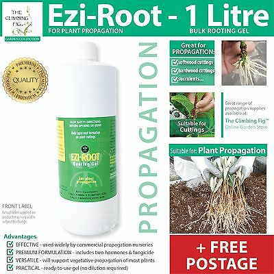 Ezi-Root Propagation Hormone | 1L Cloning Gel | Bulk nursery plant cutting use.