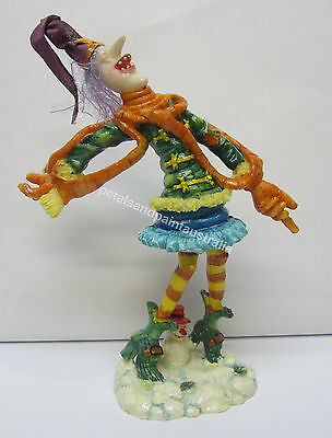 New Collectable Witch Ornament With Scarf & Snowman in the Snow Now Reduced!
