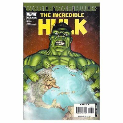 Incredible Hulk (2nd Series) 106 -  -