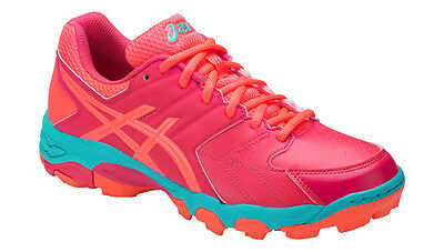 Asics Blackheath 6 GS Hockeyschuhe Junior Feldhockey Fieldhockey rouge red coral