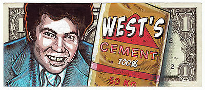 Lusky real dollar original.  West's Cement ships internationally