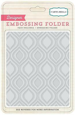Echo Park Curved PENNANT 5x6 Embossing Folder A2 Party Celebrate Birthday 103031