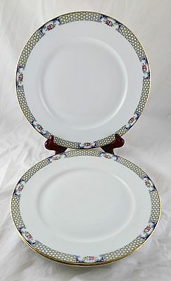 Vintage Dinner Plates - KPM - Germany - Rose Gold - 8 Available