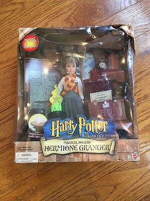 Magical Powers Hermione Granger Harry Potter and the Sorcerer's Stone Mattel