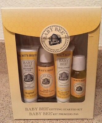 Burt's Bees - Baby Bee Getting Started Kit - 5 Piece(s) NEW in BOX