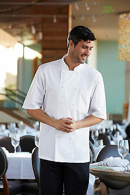 Chef Works Montreal Cool Vent Basic Chef Coat White Xs-4Xl Jlcv