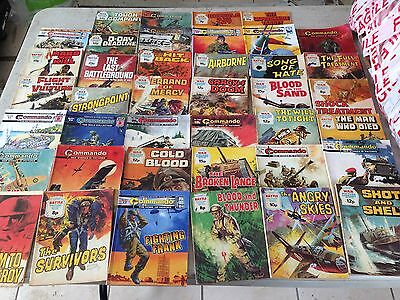 Vintage Commando & War Picture Library Magazines
