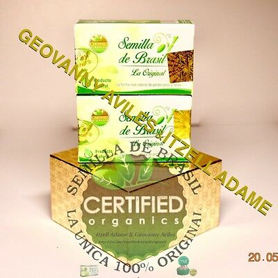 2 PACK Semilla de Brazil SdB 100% Authentic Brasil Seed Supplement - 90 DAYS