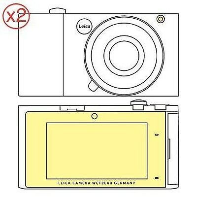 Martin Fields Overlay Plus Screen Protector (Leica T) Twin Pack