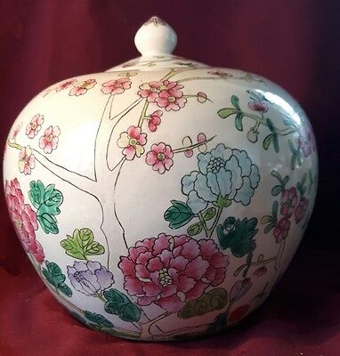 Old Large Chinese Ginger Jar - Signed