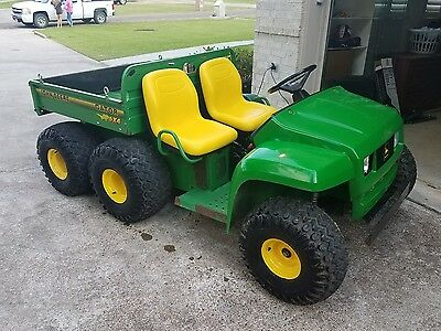 2001 John Deere  Gator 6X4 with only 647 hours. Just tuned up by JD dealer.