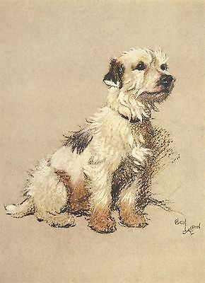 CECIL ALDIN DOG cross stitch chart also available as A4 glossy print