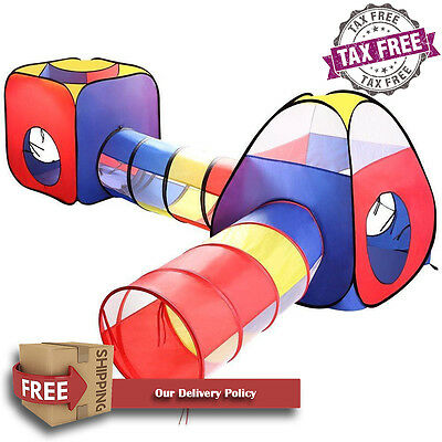 Kids Play Tent Ball Pits EocuSun 4 in 1 Pop Up Children Play Tent House with ...