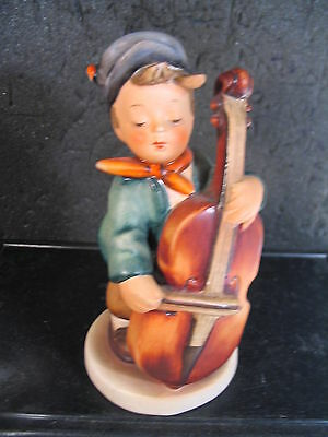 Hummel Goebel SWEET MUSIC Boy & Cello TMK 6 Hum 186