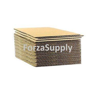 "Corrugated Cardboard Pads Sheets Inserts for Shipping Scrapbook 23 ECT 1/8"" more"