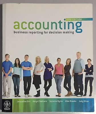 accounting business reporting for decision making 5e lesson
