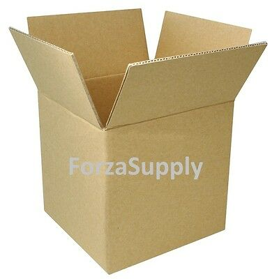 "4"" Corrugated Cardboard Boxes Shipping Supplies Mailing Moving - Choose 9 Sizes"