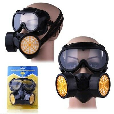 Dust Paint Mask Half Facepiece Respirator Assembly Respiratory Protection New