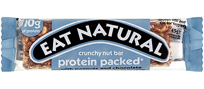 Eat Natural Protein Packed Bars With Peanut & Chocolate 1, 2, 3, 4, 5 &12 Bars