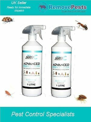 Bed Bug bedbugs killer poison treatment spray mattress bed frame & carpet safe