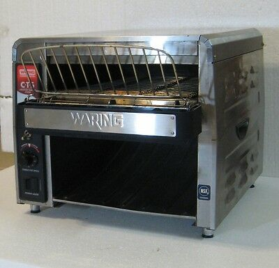Waring Cts1000 Commercial Stainless Steel Conveyor Toaster 120V